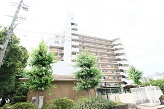 【尼崎ビューハイツ】地上10階建 総戸数66戸 ご紹介のお部屋は9階部分です♪