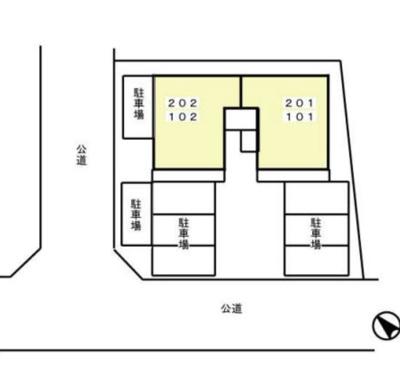 【区画図】サンライズ大平台