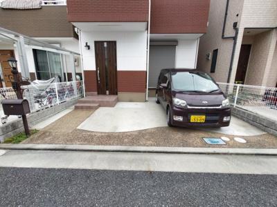 【駐車場】上之島町南4丁目貸家