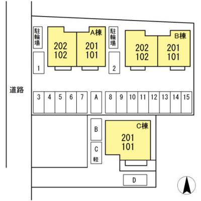 【区画図】シャンブル・ド・シャルマン A棟