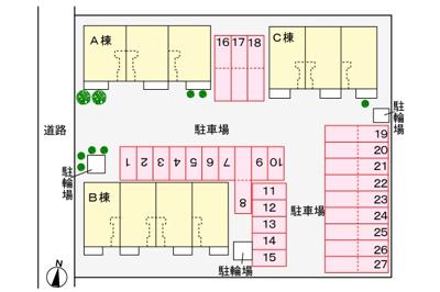 下芝公園まで450m