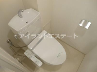 【トイレ】ルネサンスコート三軒茶屋 築浅 2人入居可 オートロック
