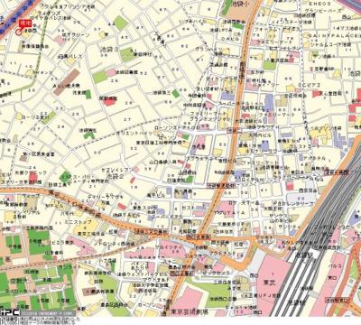 【地図】シーアイマンション池袋西