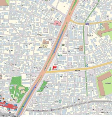【地図】菱和パレス立教大前