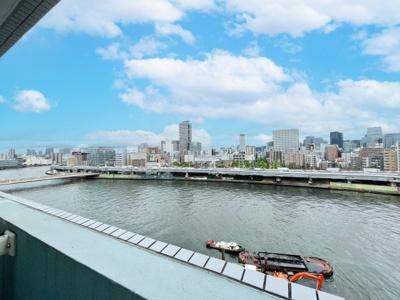 【展望】アクシルコート新大橋 12階 1990年築 リ ノベーション済