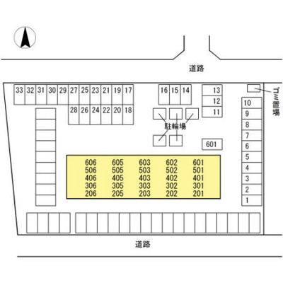 【区画図】villa brick