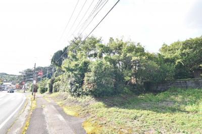 【前面道路含む現地写真】霧島市牧園町宿窪田