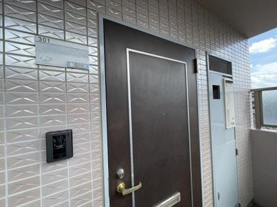 【玄関】コーポハギハラ