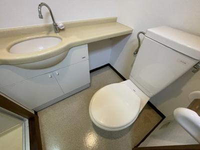 【トイレ】コーポハギハラ
