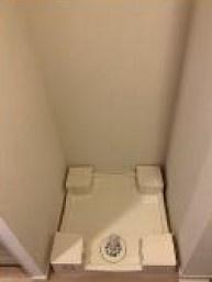 室内洗濯機置き場もあるので便利!