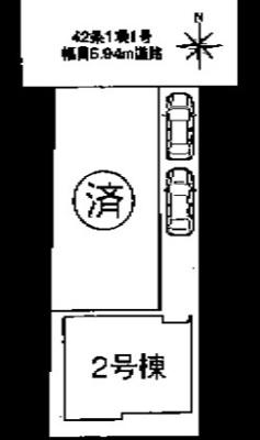 【区画図】ファーストタウン大東市第1新田本町