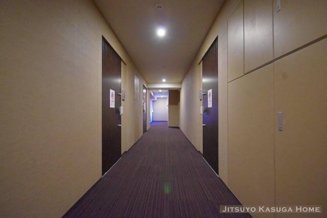 落ち着きのある廊下です
