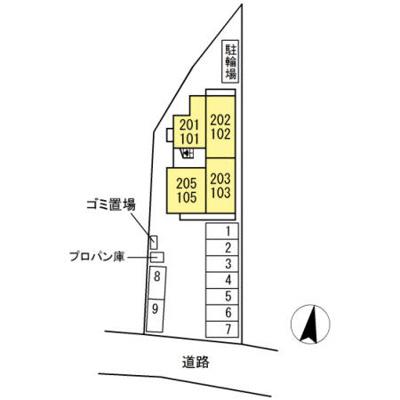 【区画図】グランディオⅡ