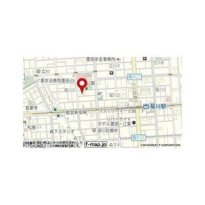 【地図】リクレイシア菊川