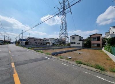 【前面道路含む現地写真】所沢市若狭3丁目 全6棟 1号棟