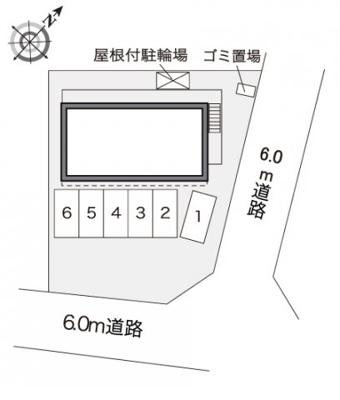 【駐車場】レオパレスコンフォート