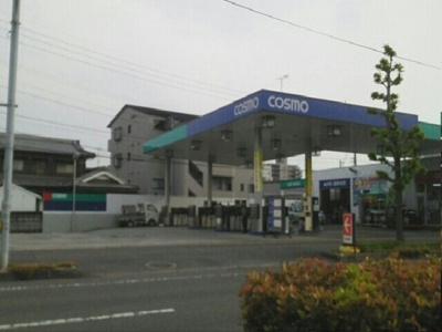 コスモ石油様まで200m