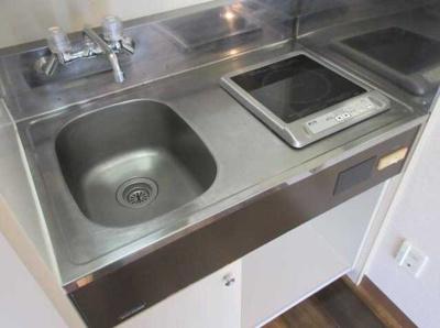 【キッチン】スカイコート世田谷 敷金0礼金0 浴室乾燥機 分譲タイプ