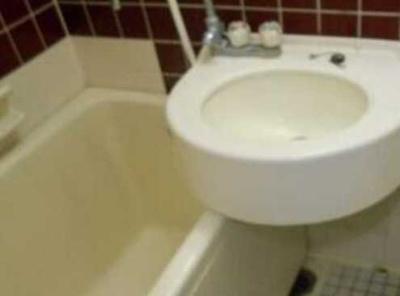 【洗面所】スカイコート世田谷 敷金0礼金0 浴室乾燥機 分譲タイプ