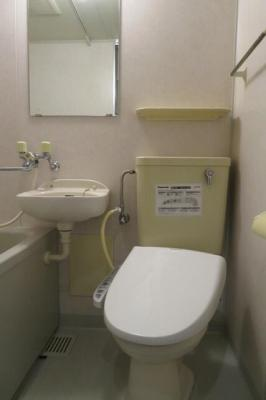【トイレ】ガラ・シティ白金台