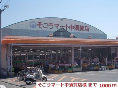 そごうマート中須賀店様まで1000m