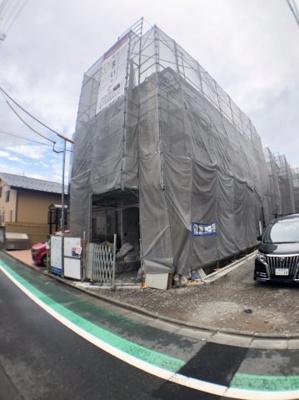 【外観】葛飾区奥戸3丁目新築戸建て【全3棟】