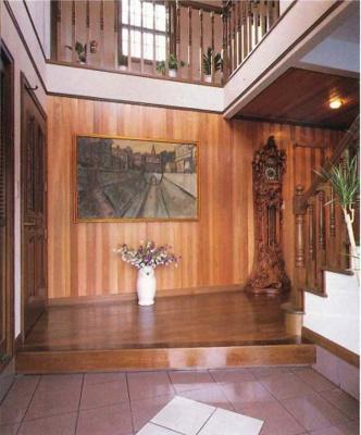 建築当初の玄関(1992年建築雑誌より)