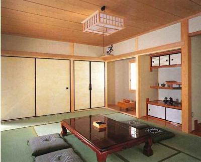 建築当初の2階和室別角度(1992年建築雑誌より)