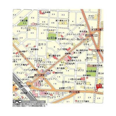 【地図】フォルテ西青木