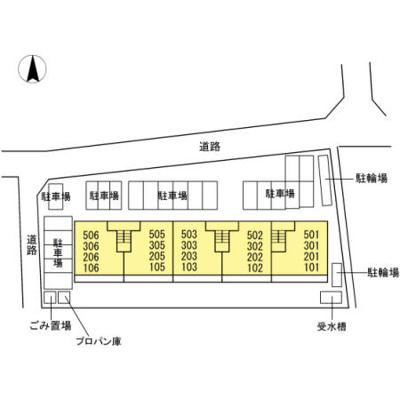 【区画図】クレスト・マンション