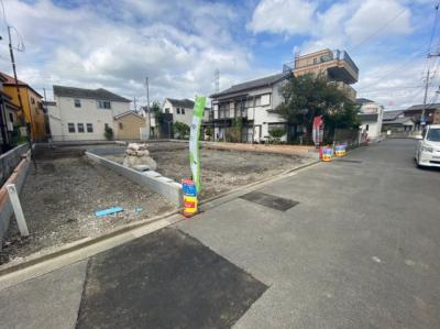 【外観】八潮市鶴ケ曽根新築戸建て【全3棟】