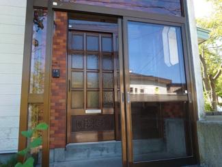 【玄関】網走市潮見5丁目 中古戸建