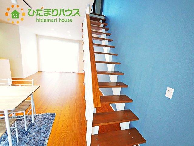 リビングにつながる階段です。