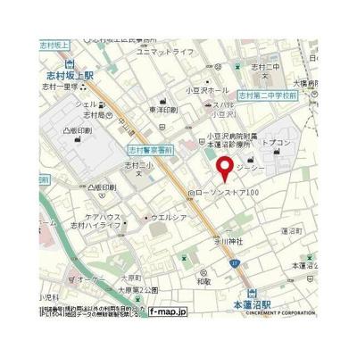 【地図】ADX本蓮沼