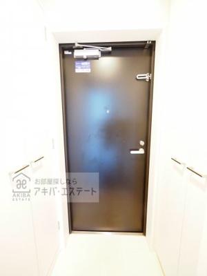 【玄関】レジディア大島