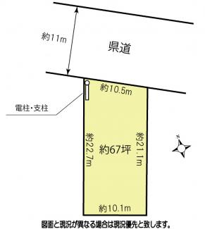 【土地図】鴻巣市吹上富士見2丁目の売地