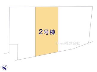 【区画図】野田市花井Ⅷ 新築戸建