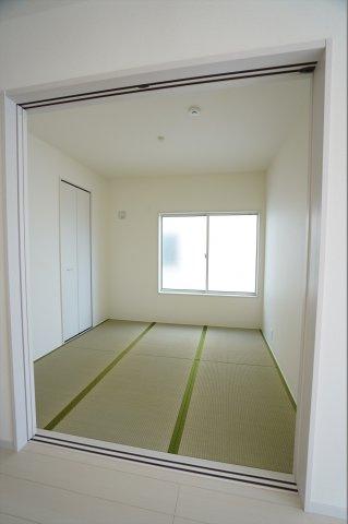 4畳の畳コーナーになります