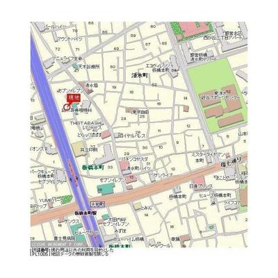 【地図】AXAS板橋本町Ⅲ ~アクサス板橋本町Ⅲ~
