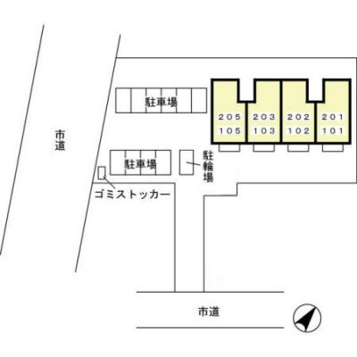 【区画図】シャンド フルール