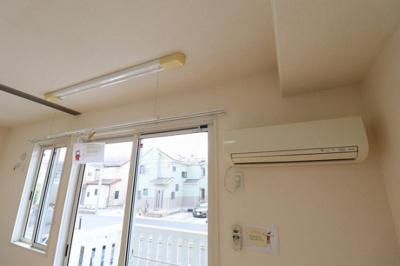 室内物干し・エアコン