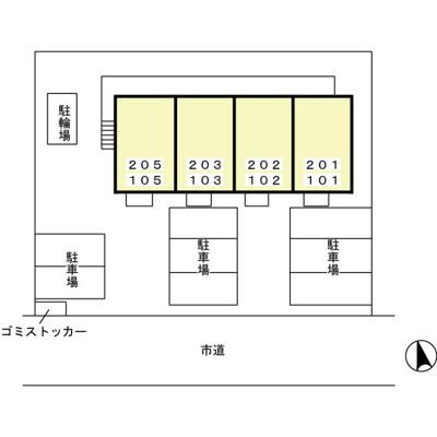 【区画図】Tiny Court(タイニーコート)