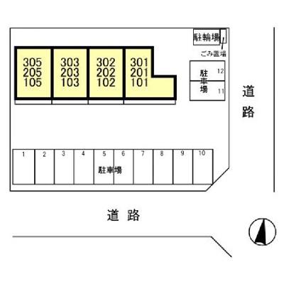【区画図】The Ritz TAKANO