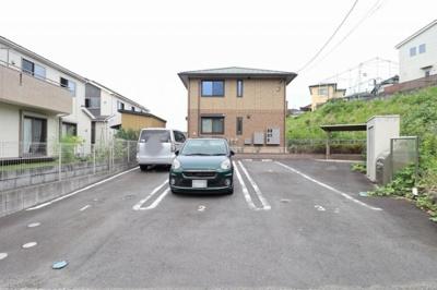 駐車場(2台付き・縦列)