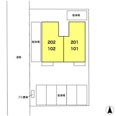 【区画図】コージーコート細田