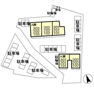 【区画図】スマイル サンライズ A・K