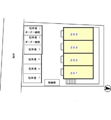 【区画図】ディアコートヒルズ