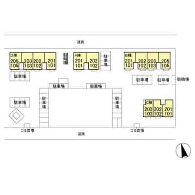 【外観】セジュール東台 ABC