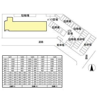 【区画図】フロンティア・コンフォート研究学園