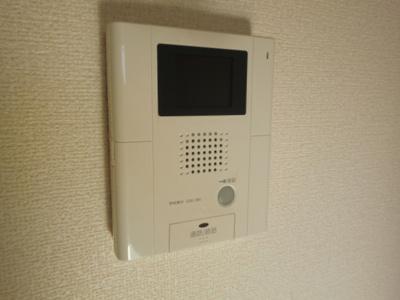 モニター付インターホン(オートロック仕様)